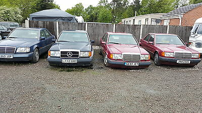 Several Old Mercs For Sale