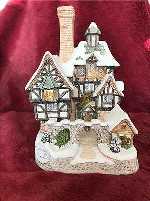 David Winter Cottage The Scrooge Family Home 1993 Mint In Box + Cert