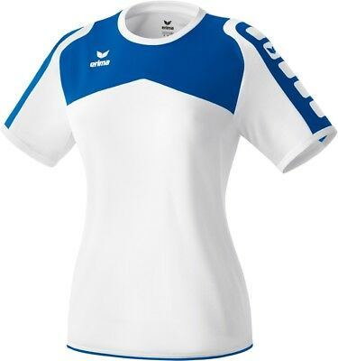 Erima Womens Ladies Sports Athletic Crew Neck Short Sleeve Jersey Shirt Top