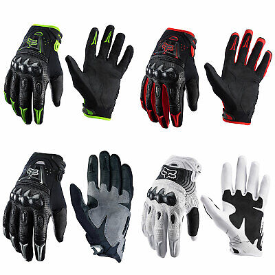 2018 MX Fox Racing Bomber Black Motorbike Motocross Dirt Bike Protection Gloves