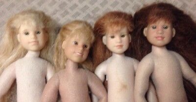 Only Hearts Club Lot of 4 Nude Dolls
