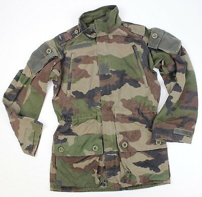 France French Army Combat Smock / Jacket In F4 Cce Ripstop Woodland Camo