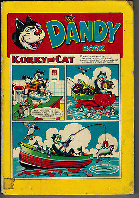 THE DANDY BOOK 1958 vintage comic annual