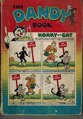THE DANDY BOOK 1955 vintage comic annual