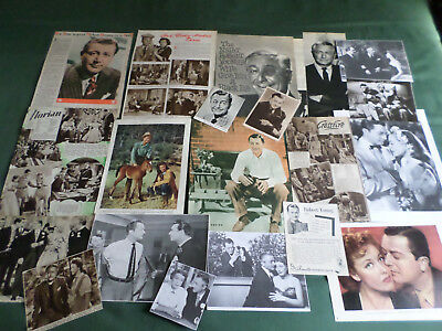 Robert Young - Film Star - Clippings /cutting Pack