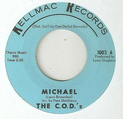 THE COD's Michael KELLMAC CHICAGO  NORTHERN SOUL 45