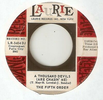 THE FIFTH ORDER A Thousand Devils LAURIE PROMO GARAGE WIGAN  NORTHERN SOUL 45