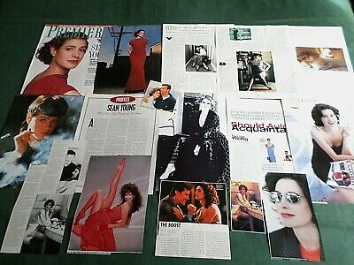 Sean Young - Film Star - Clippings /cutting Pack