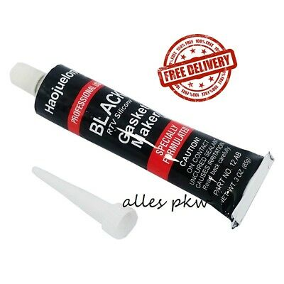 Black Gasket Silicone High Temperature Sealant Marker 85G 3.0 Oz