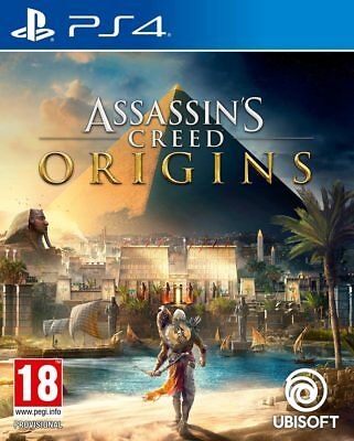 Assassin's Creed Origins (PS4)  BRAND NEW AND SEALED - QUICK DISPATCH
