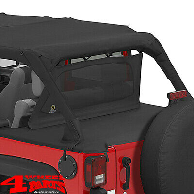 Windjammer Windschott Bestop Black Diamond Jeep Wrangler JK Bj. 07-18 4-Türer