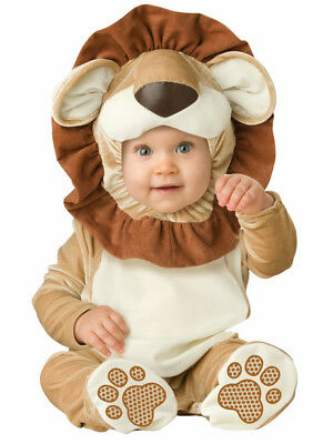 Child Infant Lion Outfit Fancy Dress Costume Jungle Animal Cat Kids Boys Girls