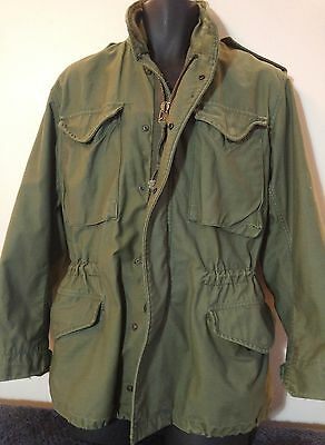 Vintage authentic Alpha M65 field jacket Size Small Regular