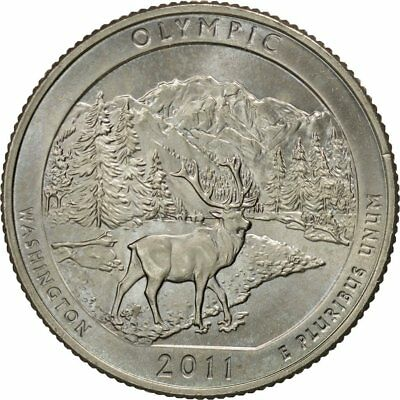 [#424075] United States, Quarter, 2011, U.S. Mint, Denver, MS(60-62)