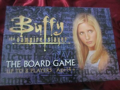 BUFFY THE VAMPIRE SLAYER Board Game. Xander Willow Spike Dru