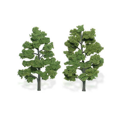 "Woodland Scenics [WOO] Realistic Trees Light Green 6-7"" (2) TR1515 WOOTR1515"