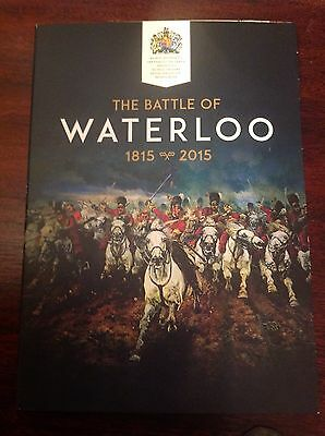 2015 Battle Of Waterloo Coin And Album
