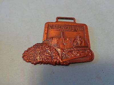 Caterpillar Bulldozer Watch Fob Martin Tractor Topeka Chanute Concordia Colby KS