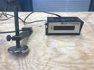 Microtronics Micro Counter with Memory