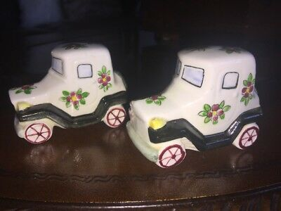Antique Vintage Salt & Pepper Shakers