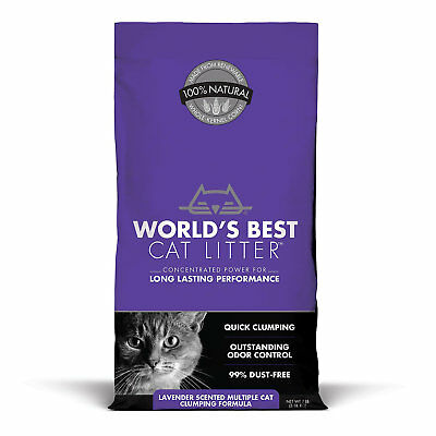World's Best Cat Litter Scented Multiple Cat Clumping Formula, 7 lbs.