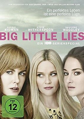 Big Little Lies Die Serie NEU OVP 3 DVDs Reese Witherspoon, Nicole Kidman