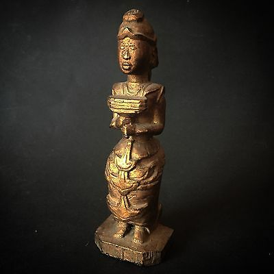 Burma Myanmar Nat Buddha Asia Art Thailand Lao Laos Magic medicine figure