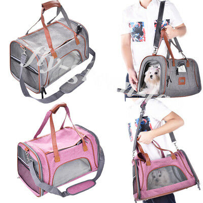 Portable Puppy Bag Outdoor Suitcase Dog Cat Carring Bags Small Pet Carry Handbag