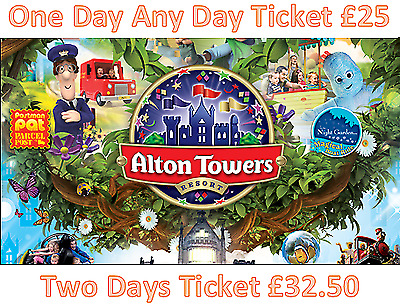 Alton Towers Discount Promo 53% Off