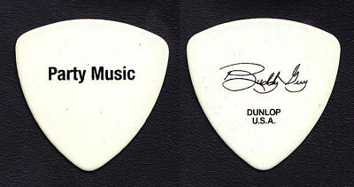 Buddy Guy Signature Party Music White Tour Guitar Pick