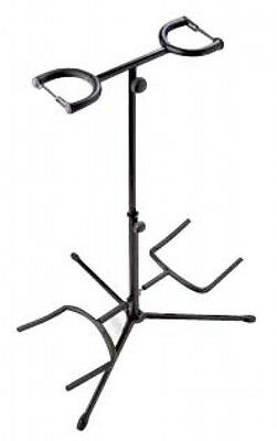 Dual Guitar Stand Black Finish, For 2 Guitars - Stagg SG-A200BK -NEW 2017 PRICE