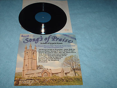 record songs of praise lp record