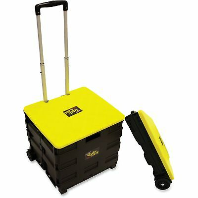 "dbest products Original Quik Cart 4-1/2""x18-1/2""x16-1/2"" Black/Yellow 00011"