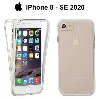 Funda Proteccion 360º Gel TPU Hibrida Transparente para iPhone 8