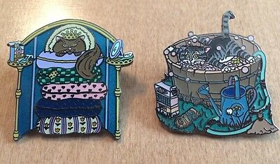 2 Gary Patterson Collored Cat Tac Pins