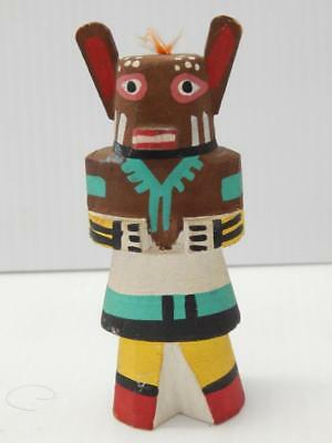 Vintage Hopi Indian Highway Route 66 Bear Kachina Doll -Xlnt Condition - Old Nr