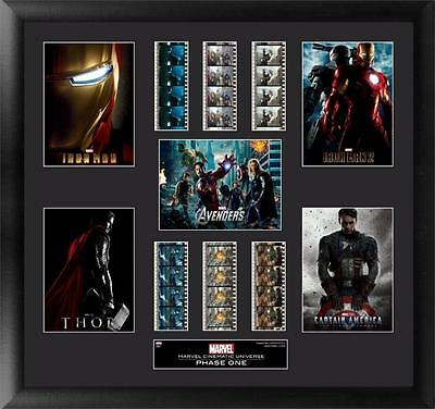 Marvel's Cinematic Universe Phase 1 Mixed Film Cell Montage