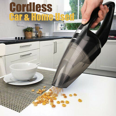 Handheld Rechargeable Wet Dry Portable Cordless Vacuum Cleaner Car Home Clean AU