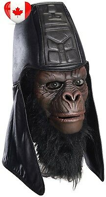 Rubie's Costume Men's Classic Planet Of The Apes Overhead General Usurus Mask