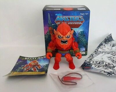 The Loyal Subjects Action Vinyls Masters of the Universe MOTU Beastman Beast Man