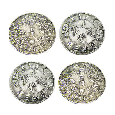 Collection Antique Dollar 1 pcs Dollar Silver Coin Daqing Antique Coins