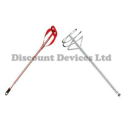 Red/Unpainted Plaster Mortar Paint /Emulsion/Addhesive Mixing Tool Heavy Duty