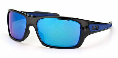 GENUINE OAKLEY Turbine OO9263 Sunglasses Lenses - Sapphire Iridium Plutonite