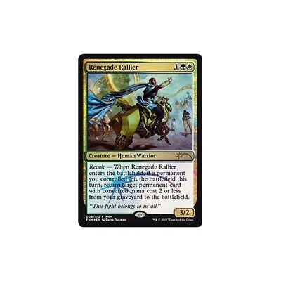 MTG Magic ♦ FNM Promo ♦ Rallieur renégat FOIL VF NM