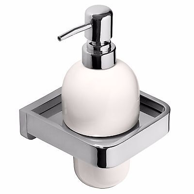 Wall Mounted Pump Action Soap Dispenser - Bathroom Accessory - High Quality