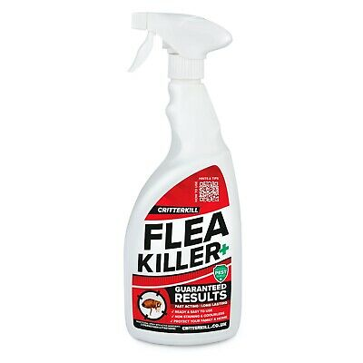 Strong Flea Killer Spray Aerosol Flying Crawling Insect Insecticide Home Use 1L