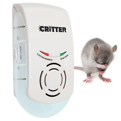 Mouse Repeller Mice Rat Rodent Electric Trap Home Indoor Plug In Humane & Safe