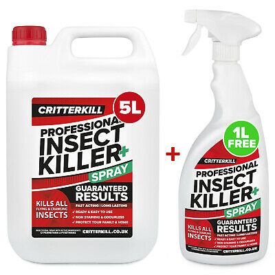 6L Strong Insect Killer Spray Pest Insecticide Bed Bug Flea Carpet Moth Spider