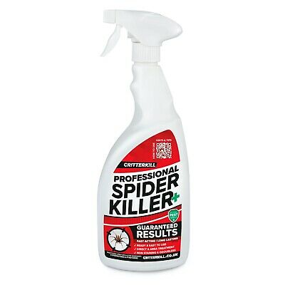 Spider Killer Spray Aerosol Flying Crawling Insect Insecticide Home Strong 1L