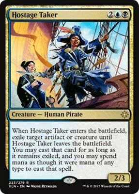 HOSTAGE TAKER Ixalan MTG Gold Creature — Human Pirate Rare